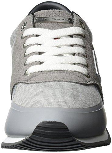 Light 007 Grey P1285hoenix Grey Tommy Top Low Women's Sneakers Hilfiger 3c2 qwn018vU