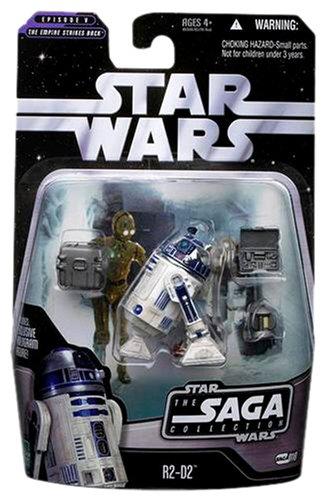 Basic Figure R2-D2 Hasbro 85930 FSL/_070112/_033 Star Wars The Saga Collection