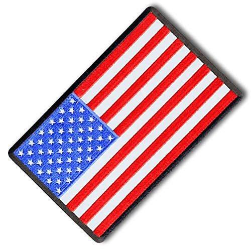 custom unique rectangle patriot stars