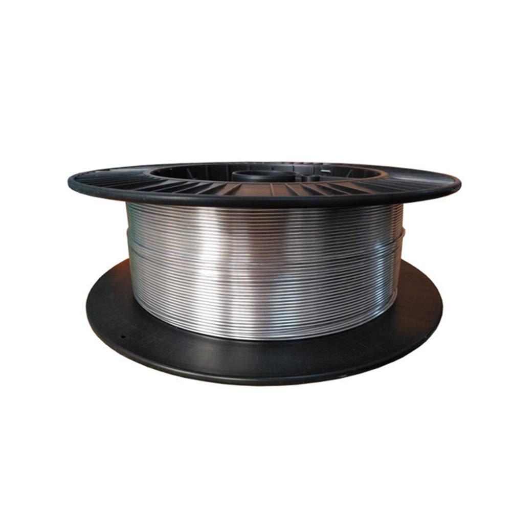 AFexm Filo di Saldatura del Filo di Alluminio,Flux Core Mig Wire Adatto per energia elettrica Diametro 1,6 MM ,1.6mm,0.5M Chimica