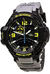Casio G-Shock GA-1000-8A Aviation Series Men's Luxury Watch - Grey / One Size