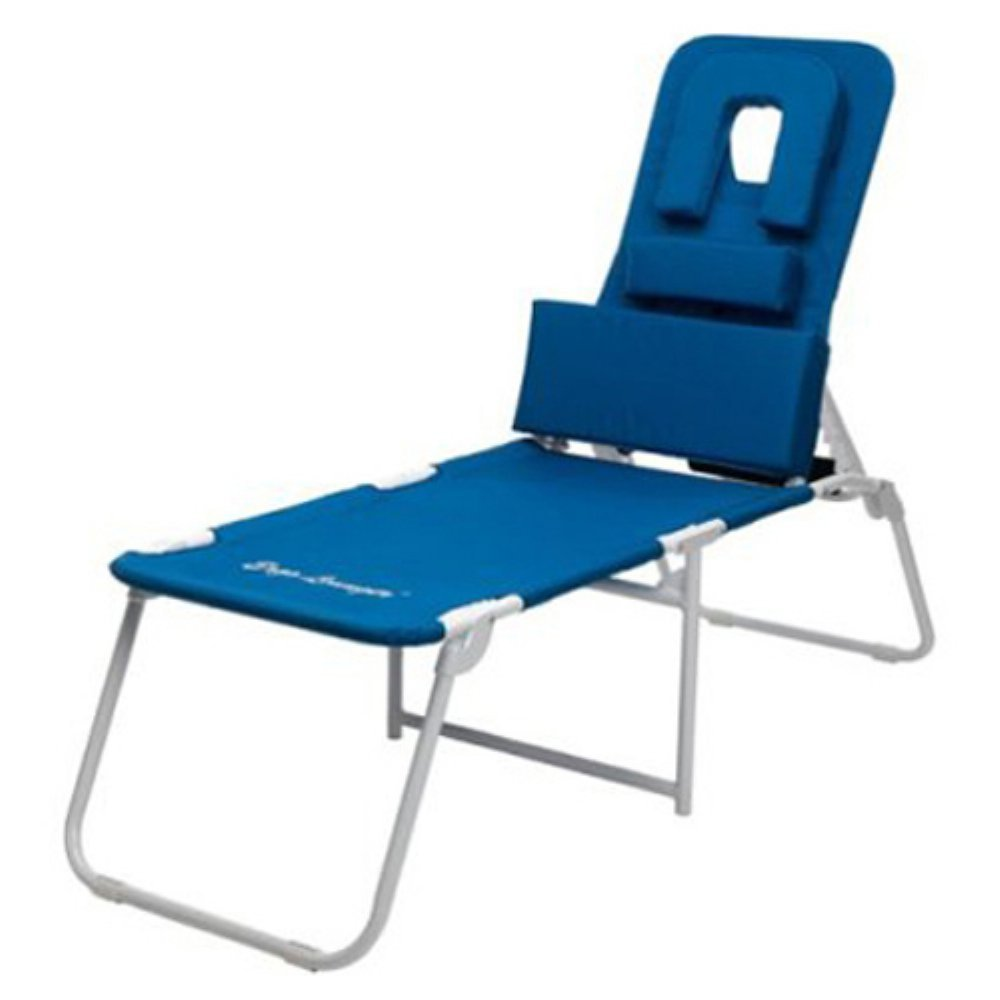 Folding outdoor lounge chair - Amazon Com Marstone Ergolounger Oh Beach Chaise Lounge Kitchen Dining