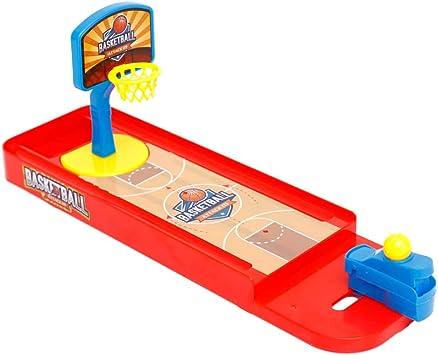Juguete De Baloncesto De Mesa Baloncesto Mini Toy Dedo De Disparos Juegos De Juegos De Mesa para Adultos Y para Niños Juguetes Educativos Interactivos: Amazon.es: Juguetes y juegos
