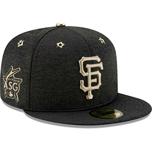 New Era San Francisco Giants Fitted 7 1/8 2017 MLB All-Star Game Patch Cap Hat - San Francisco Giants Fitted Game