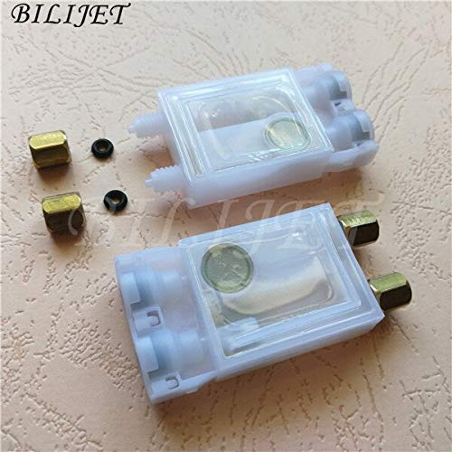 Printer Parts F189010 DX7 Ink Damper Eco Solvent Ink DX7 Dumper for Eps0n DX7 Yoton Small Connector 3x2mm with Screw nut Connector 10pcs