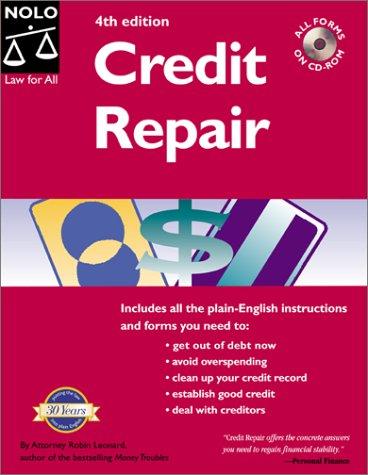 Download Pdf Credit Repair Credit Repair 4th Ed Online