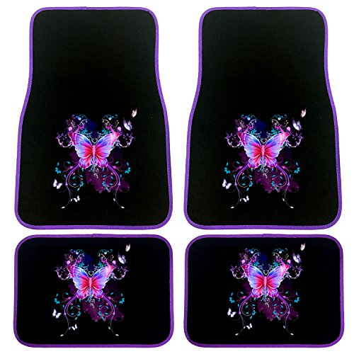 purple car floor mats - 6