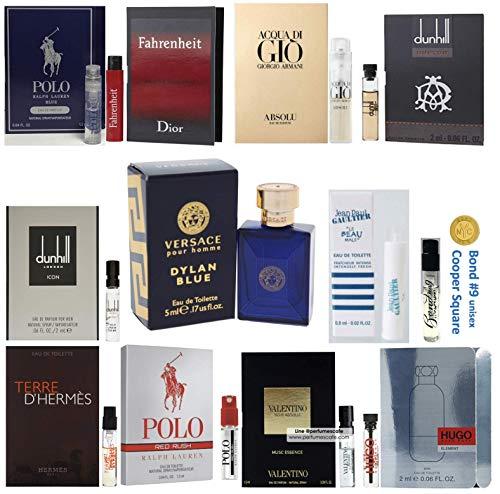 Pilestone's Selection: 12 Cologne Samples For Men All High End Designer Fragrances Good For Even Gifts