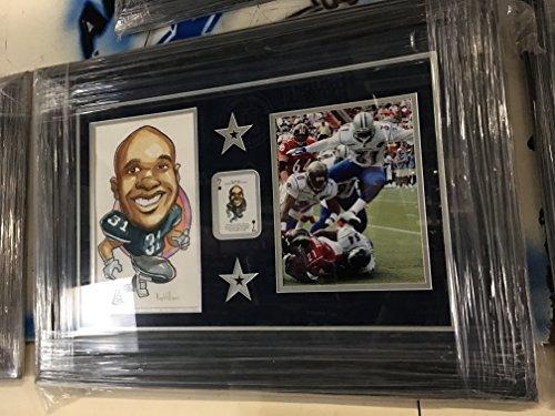 Custom Framed Dallas Cowboys Roy Williams #31 Original Ar...