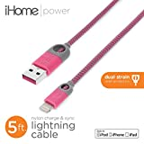 iHome Lightning Cable for Apple - Pink