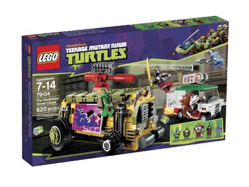 LEGO Teenage Mutant Ninja Turtles - The Shellraiser Street Chase -