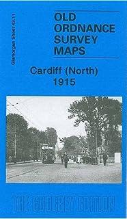 OLD ORDNANCE SURVEY MAPS CARDIFF /& DISTRICT 1890 /& Map of Llanishen Sheet 263