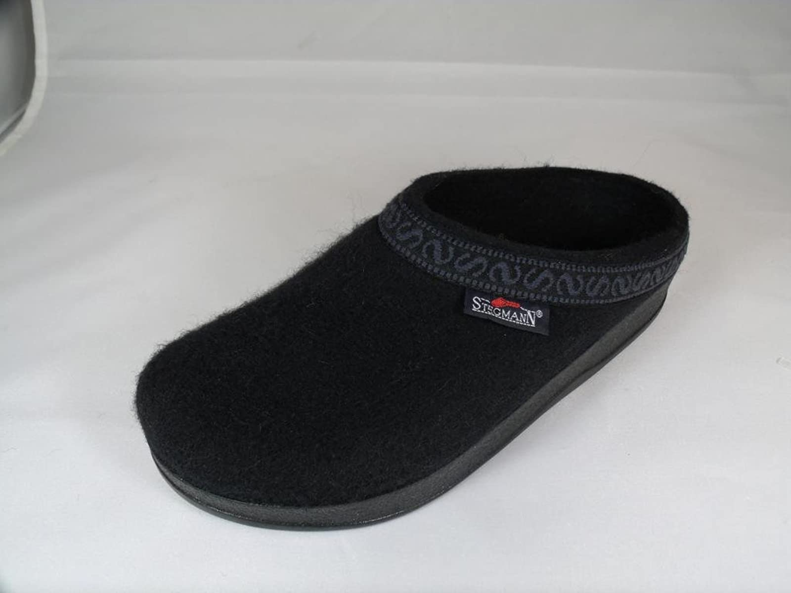 Women's Wool-Flex clog L108p Black Graphite - 1