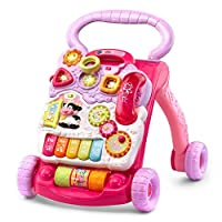 VTech Sit-to-Stand Learning Walker Amazon Exclusive, Pink