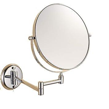 amazon com happy time foldable telescopic mirror bathroom vanity rh amazon com