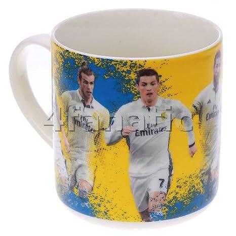 Real Madrid Players Taza de café Taza XXX: Amazon.es: Deportes y aire libre