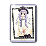 3dRose lsp_24183_1 Schoolgirl Anime - Single Toggle Switch