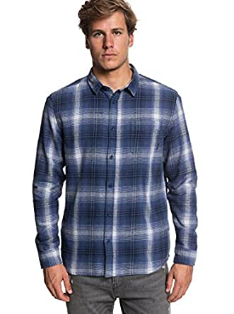 Amazon.com: Quiksilver – Camiseta fatherfly Camisa (franela ...