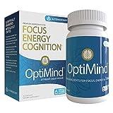 Alternascript OptiMind Nootropic Brain Booster Supplement, Enhance Focus and Energy, As Seen on Netflix, 1-Pack (32 Ct)