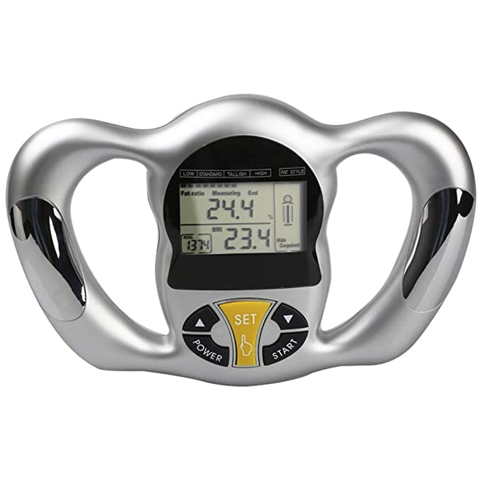 Amazon.com: certainPL Handheld Body Fat Monitor Digital Body Index BMI Health Monitor, Unisex: Kitchen & Dining