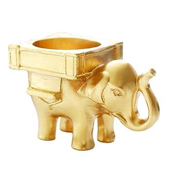 Flameer Décorations De Mariage Cute Elephant Ornement