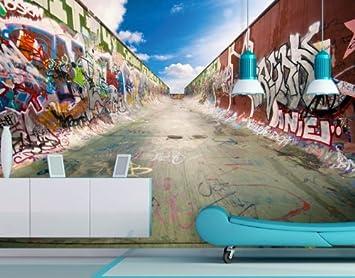 Tapeten kinderzimmer jugendzimmer for Graffiti jugendzimmer