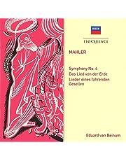 Mahler: Symphony No. 4; Das Lied Von Der Erde; Lieder