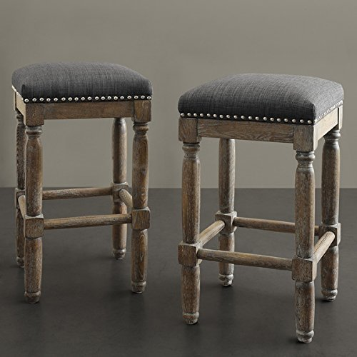 Renate Grey Counter Stools (Set of 2) by Renate