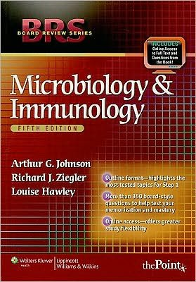 BRS Microbiology and Immunology (text only) 5th (Fifth) edition by A. G. Johnson ,R.J. Ziegler, L.Hawley pdf epub
