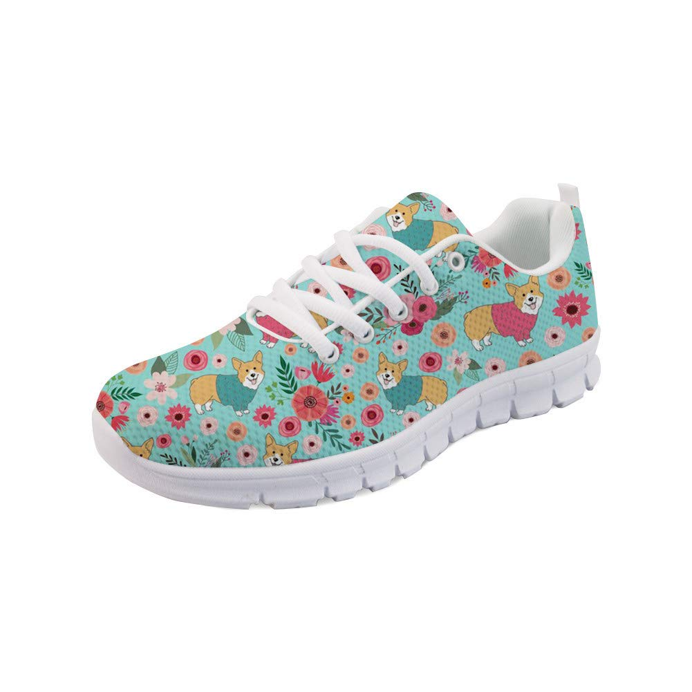 POLERO Women Running Sneakers Casual Breathable Comfortable Running Walking Shoes Ladies Simple Print Mixed Colors Road Running Shoes