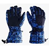Ski Gloves Winter Outdoord Snow Sports Gloves Warm Waterproof Anti Cold Anti Slip Snowboard Cycling Climbing Hiking Gloves for Men