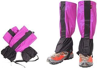 SEIGNEER Ghetta da Sci,1 Paio Unisex Snow Ghette Ghette Outdoor Impermeabile Sport Stivali Ghette Escursionismo Camminare Arrampicata Leggings Ciclismo per Adulti