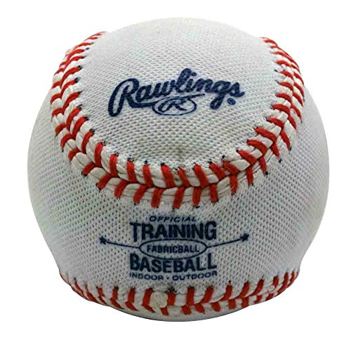 Rawlings Soft-Core Fabric-Cover Training Baseball by Rawlings