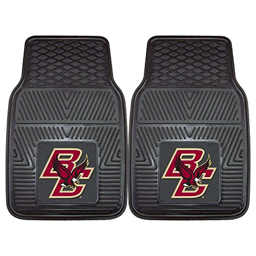 Boston College Heavy Duty Vinyl Car Floor Mats (Set of 2) ()