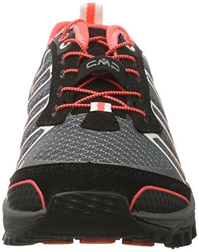 C.P.M. Atlas, Zapatillas de Running para Asfalto para Mujer Gris (Grey)