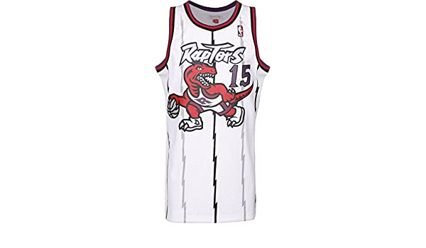 Mitchell & Ness Toronto Raptors Vince Carter Camiseta Sin Mangas White: Amazon.es: Deportes y aire libre
