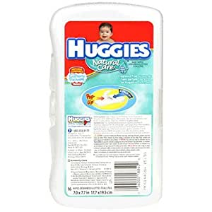 Huggies Natural Care Baby Wipes, Unscented - 16 ea