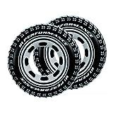Intex Tire Tube Swim Ring, 36' Pack of 2