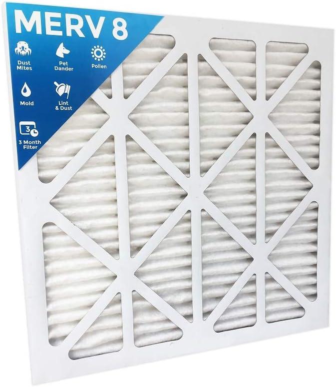 12 Pack 14 x 24 x 1 Merv 8 Furnace Filter