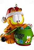 Carlton Cards Heirloom Garfield the Cat with Cookie Jar Christmas Ornament