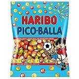 4x Haribo PICO-BALLA each Bag 200g (German Import) by Haribo