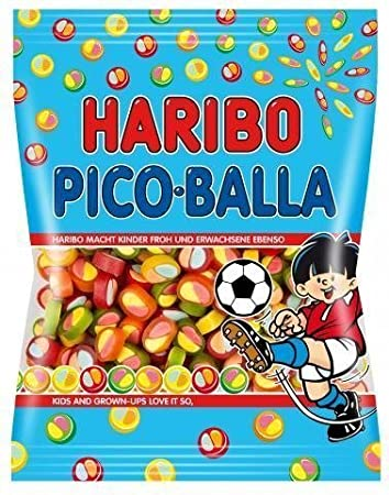 4x Haribo PICO-BALLA each Bag 175 Gram (German Import)