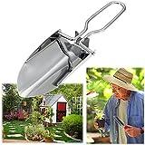 VANKER Foldable Durable Stainless Steel Shovel Trowel Gardening Tool