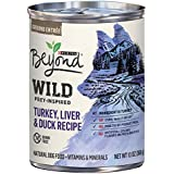 Purina Beyond Wild Grain Free Natural High Protein, Turkey, Liver & Duck Recipe Canned Dog Food, 13 oz, case of 12