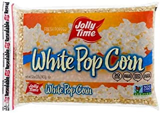 product image for Jolly Time White Popcorn Kernels - Bulk Stovetop Natural Popping Corn, 2 lb. Bags (