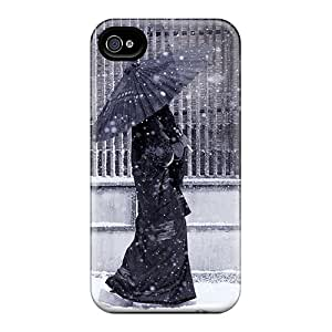 Iphone 4/4s Case Cover Japanese Woman Case - Eco-friendly Packaging