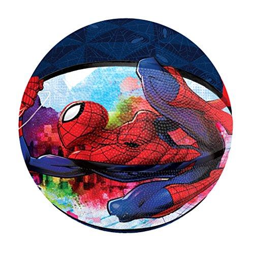 Hedstrom 53-637641 Spiderman Jr. Rubber Basketball Junior Basketball, Red