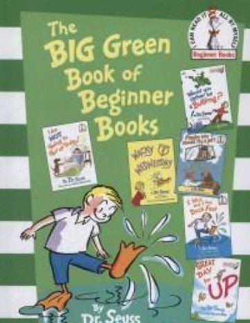 Price comparison product image The Big Green Book of Beginner Books