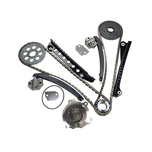 MOCA Timing Chain Kit & Water Pump for 02-11 Ford E-150 E-250 F-150 F-250 Expedition & 05-11 Lincoln Mark LT Navigator 5.4L V8 SOHC