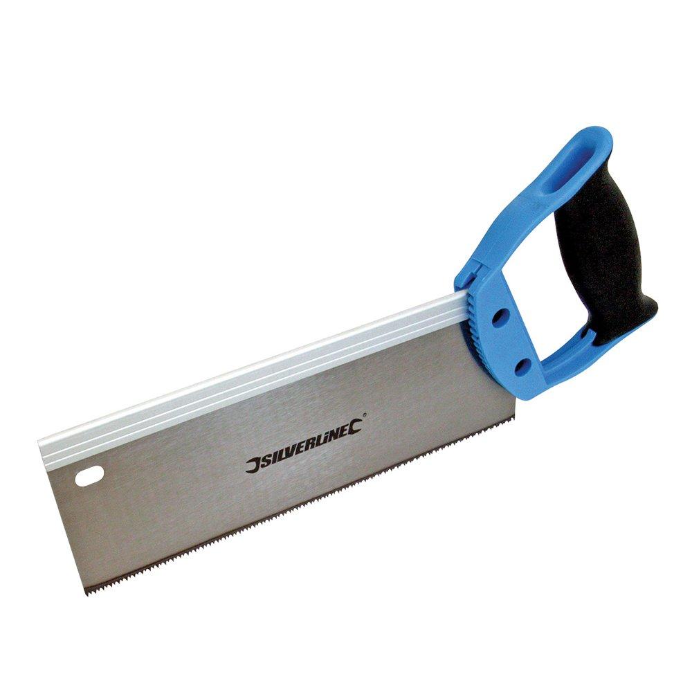 Silverline Zapfensä ge mit gehä rteten Zä hnen, 250mm, 12 ZpZ